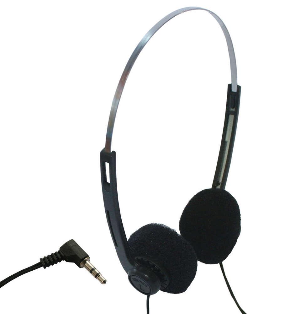 Casque audio jetable cordon 5 m - Casque