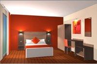 Mobilier de chambre hotel equipement hotel pas cher for Fournisseur materiel hotelier