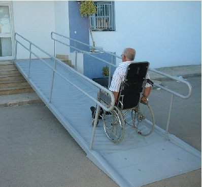 Disabled access ramp 4 m