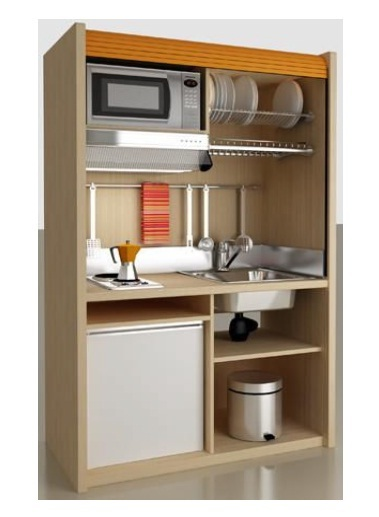 mini cuisine hotel special k126 cuisinette kitchenette. Black Bedroom Furniture Sets. Home Design Ideas