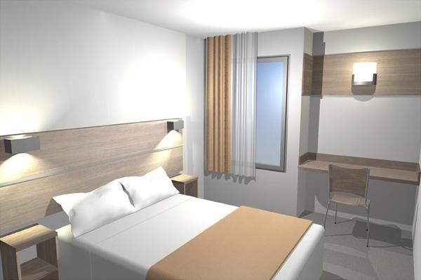 Mobilier de chambre hotel  Equipement hotel pas cher