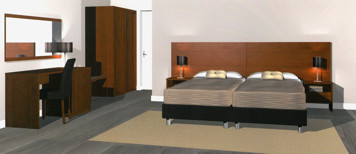 Mobilier de chambre hotel equipement hotel pas cher for Mobilier de chambre juvenile