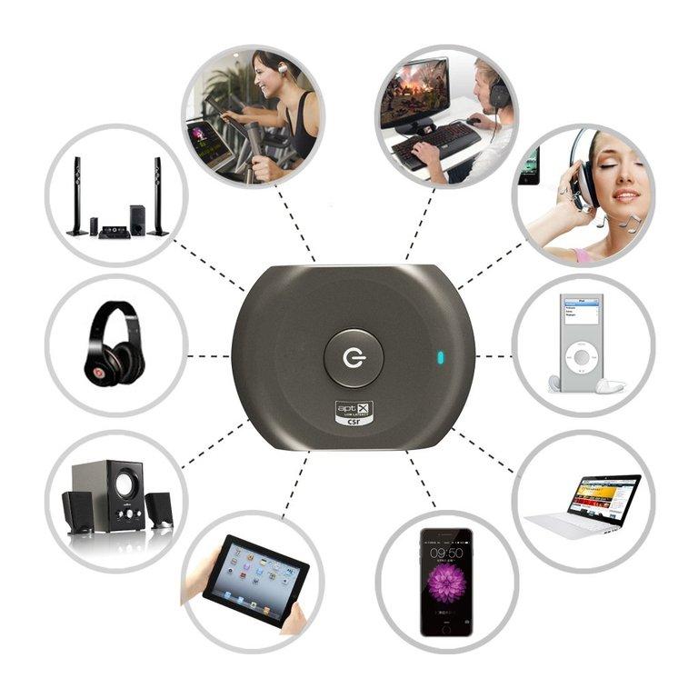 emetteur plus r cepteur bluetooth audio t l vision. Black Bedroom Furniture Sets. Home Design Ideas
