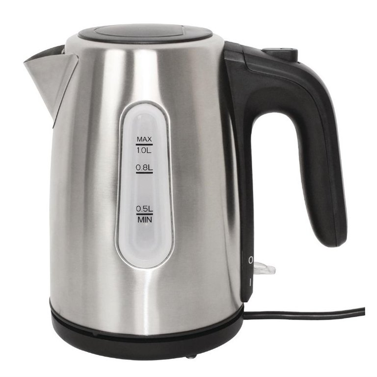 Caterlite Hotel Kettle 1Ltr Stainless Steel
