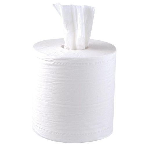 4f072c5f5ca305 Bobine dévidage central papier essuie-mains blanc