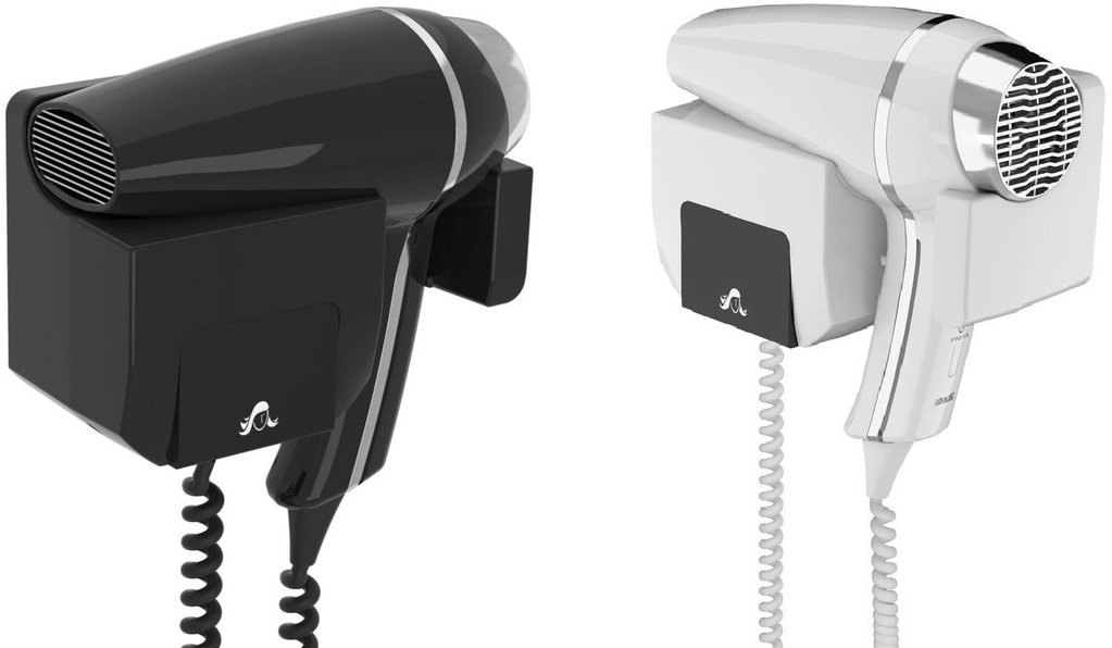 Frontal Support Wall Hair Dryer Clipper II