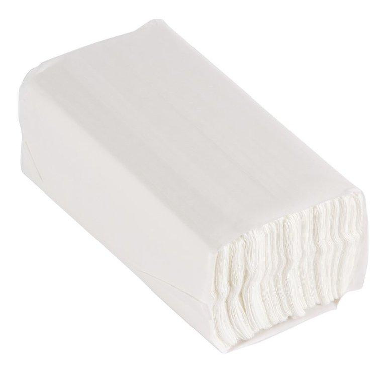 C fold white hands towel