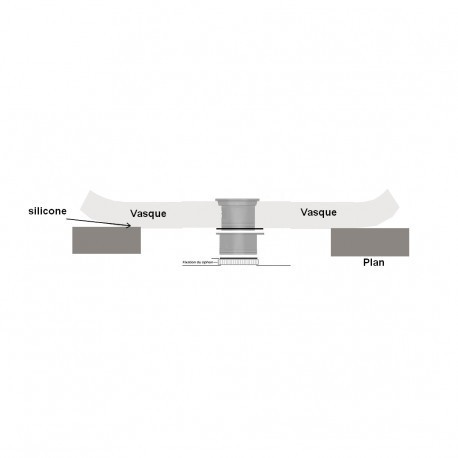bonde universelle lavabo clic clac. Black Bedroom Furniture Sets. Home Design Ideas