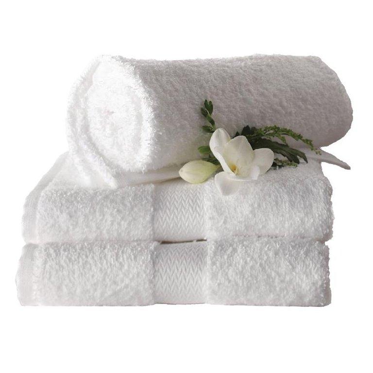 serviette de bain blanche 90 cm. Black Bedroom Furniture Sets. Home Design Ideas