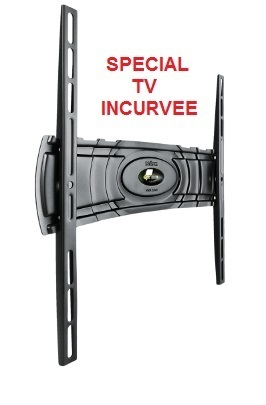 Support mural fixe TV incurvée CURVED 400 meliconi