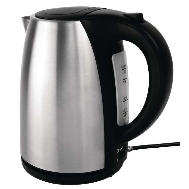 Caterlite Hotel Kettle 1.7Ltr Stainless Steel