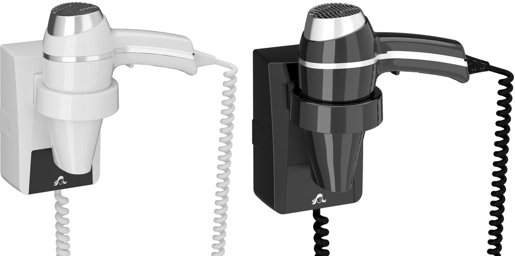 Wall Hair Dryer Clipper II with Plug Razor