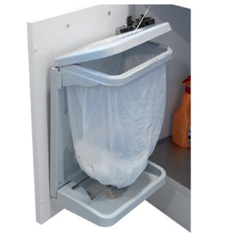 poubelle int rieure de porte 20l porta frandis www. Black Bedroom Furniture Sets. Home Design Ideas