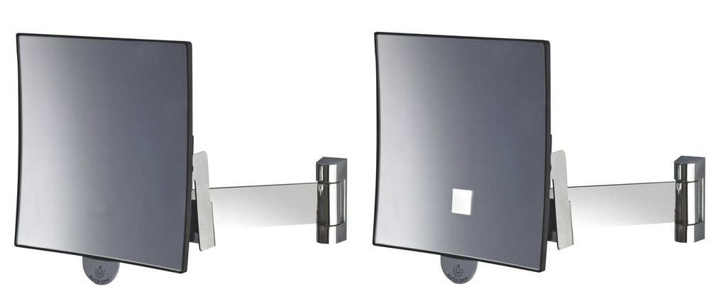 Magnifying square mirror Eclips