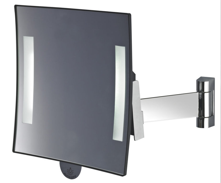 Galaxy Luminous Square Magnifying Mirror