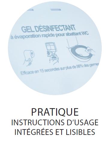 b7ec5b69c73898 Recharge désinfectant lunettes WC Cleanseat 1L - www.cashotel.fr