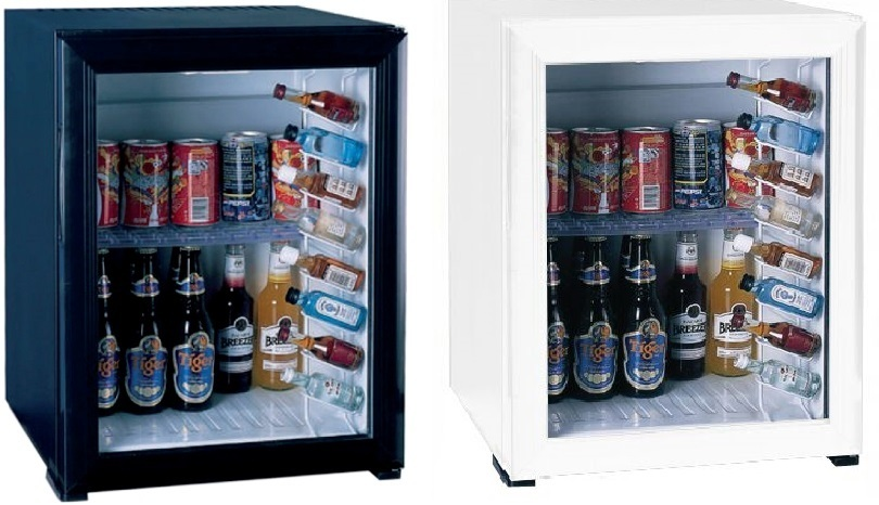 Mini bar à absorption porte vitrée 40L