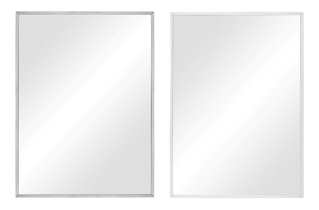 Rectangular mirror with frame H.80 x W.60 cm