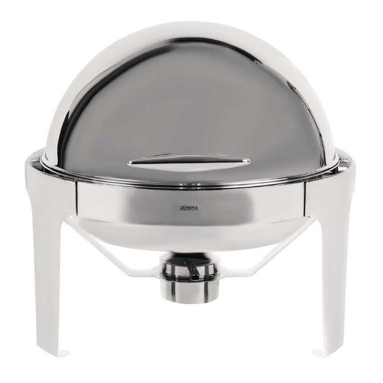 Chafing dish rond en inox 6L Paris Olympia