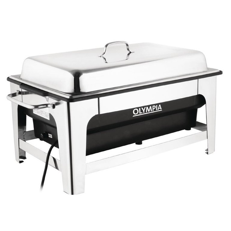 Chafing Dish électrique en inox GN 1/1 13,5L Olympia