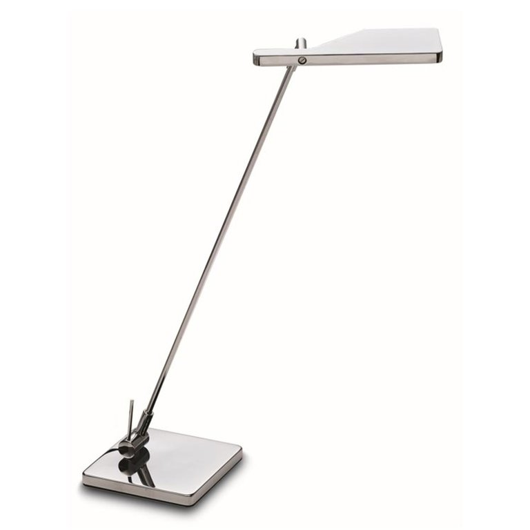 Elva designer chrome led table lamp