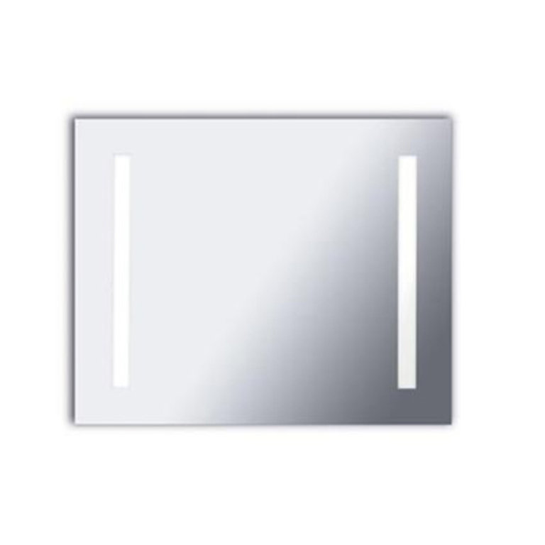 Reflex rectangular Led illuminated mirror 80 cm