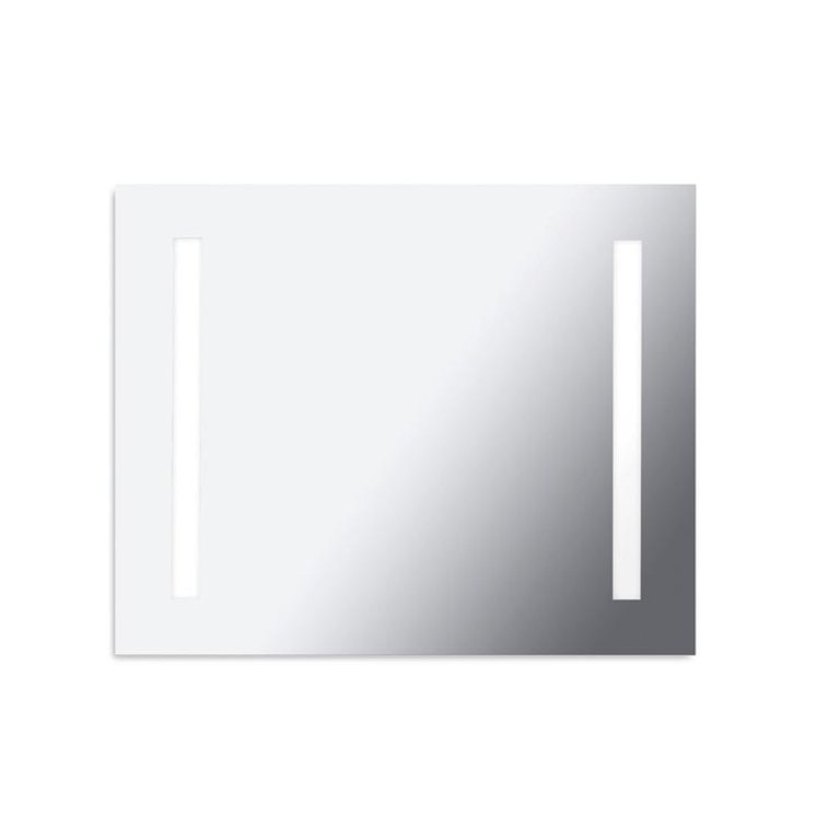 Reflex rectangular 2G11 illuminated mirror 80 cm
